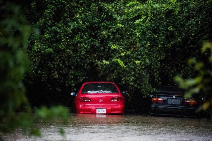 Hurricane Harvey hits Texas