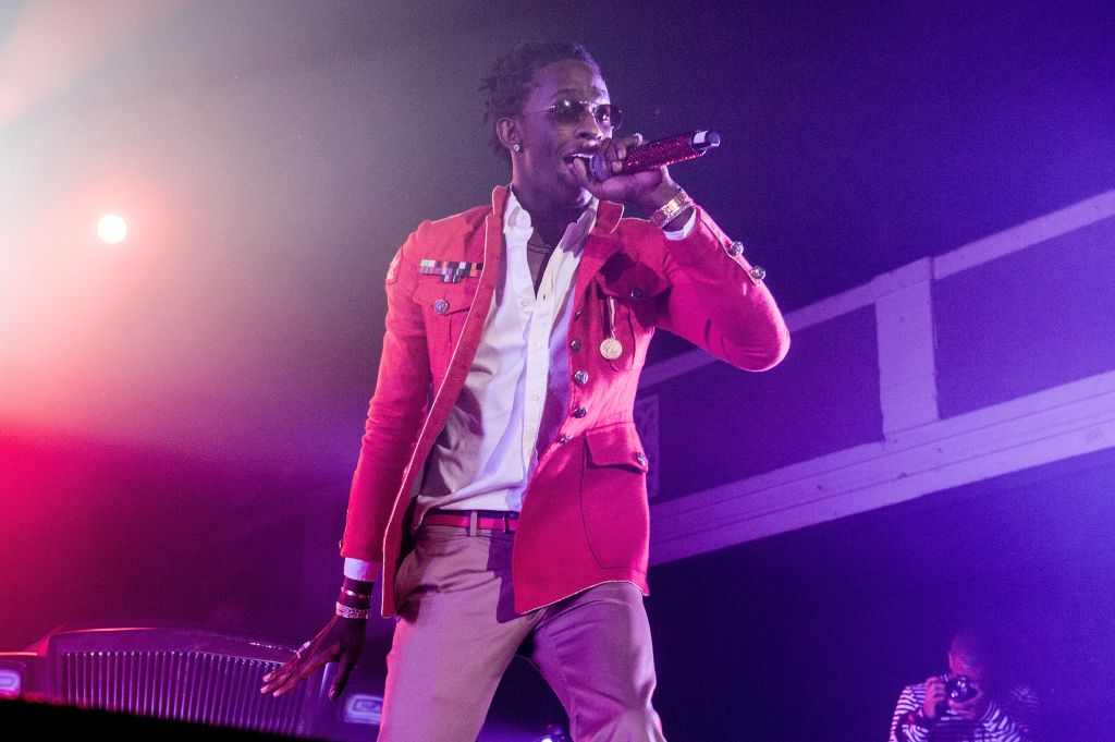 Young Thug Performs At Shrine Expo Hall