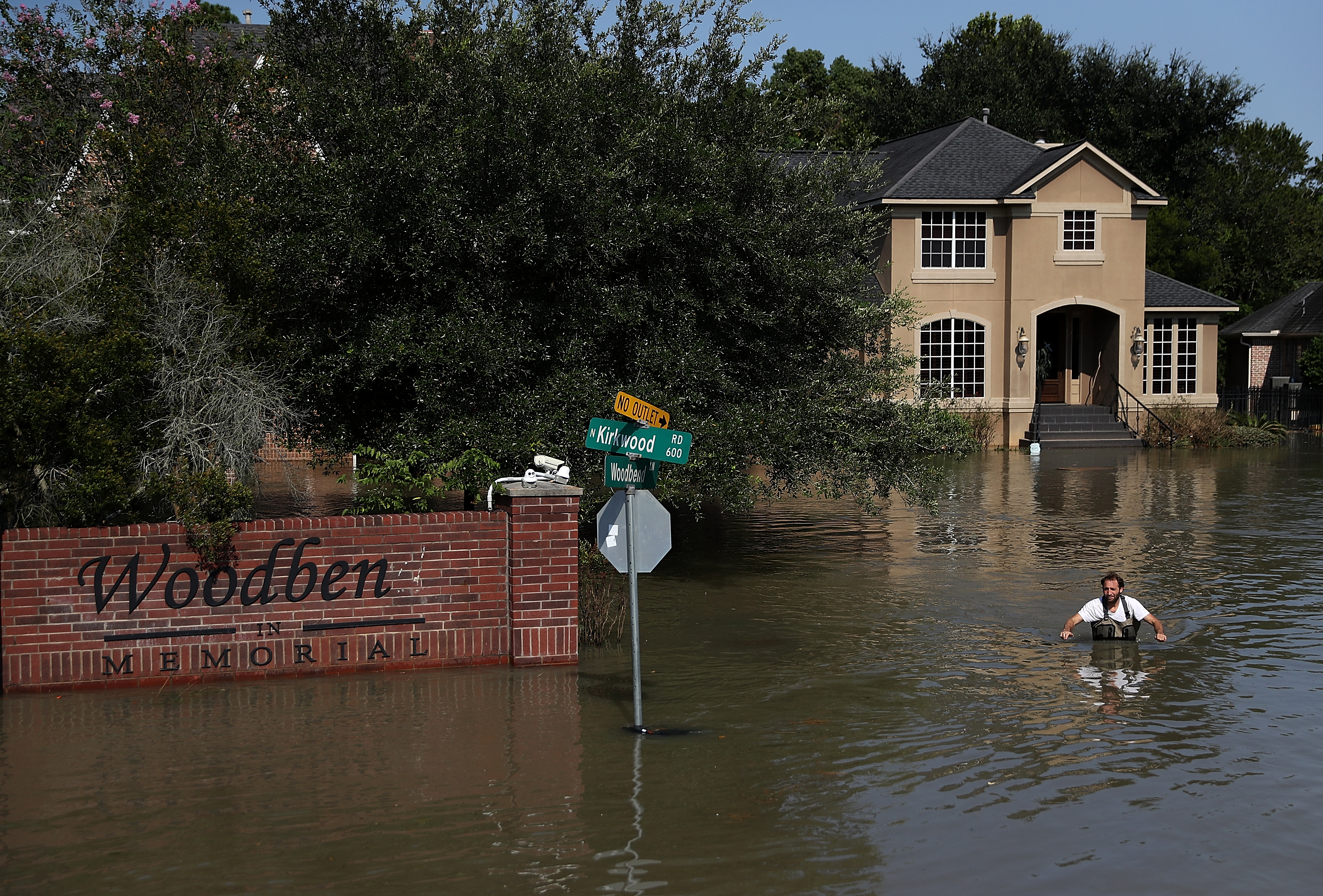 Houston Area Continues Recovery Efforts From Catastrophic Hurricane Harvey Damage