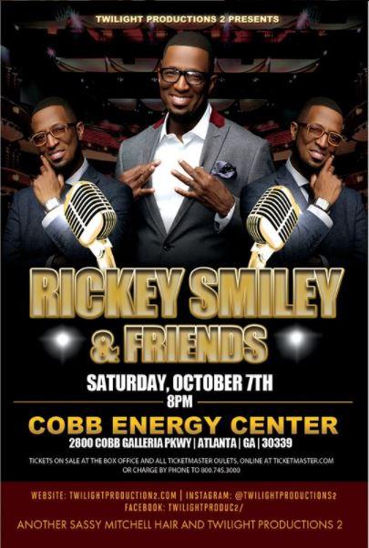 Rickey Smiley & Friends Atlanta Flyer