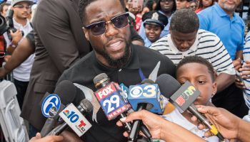 Kevin Hart Birthday Celebration And Mural Dedication