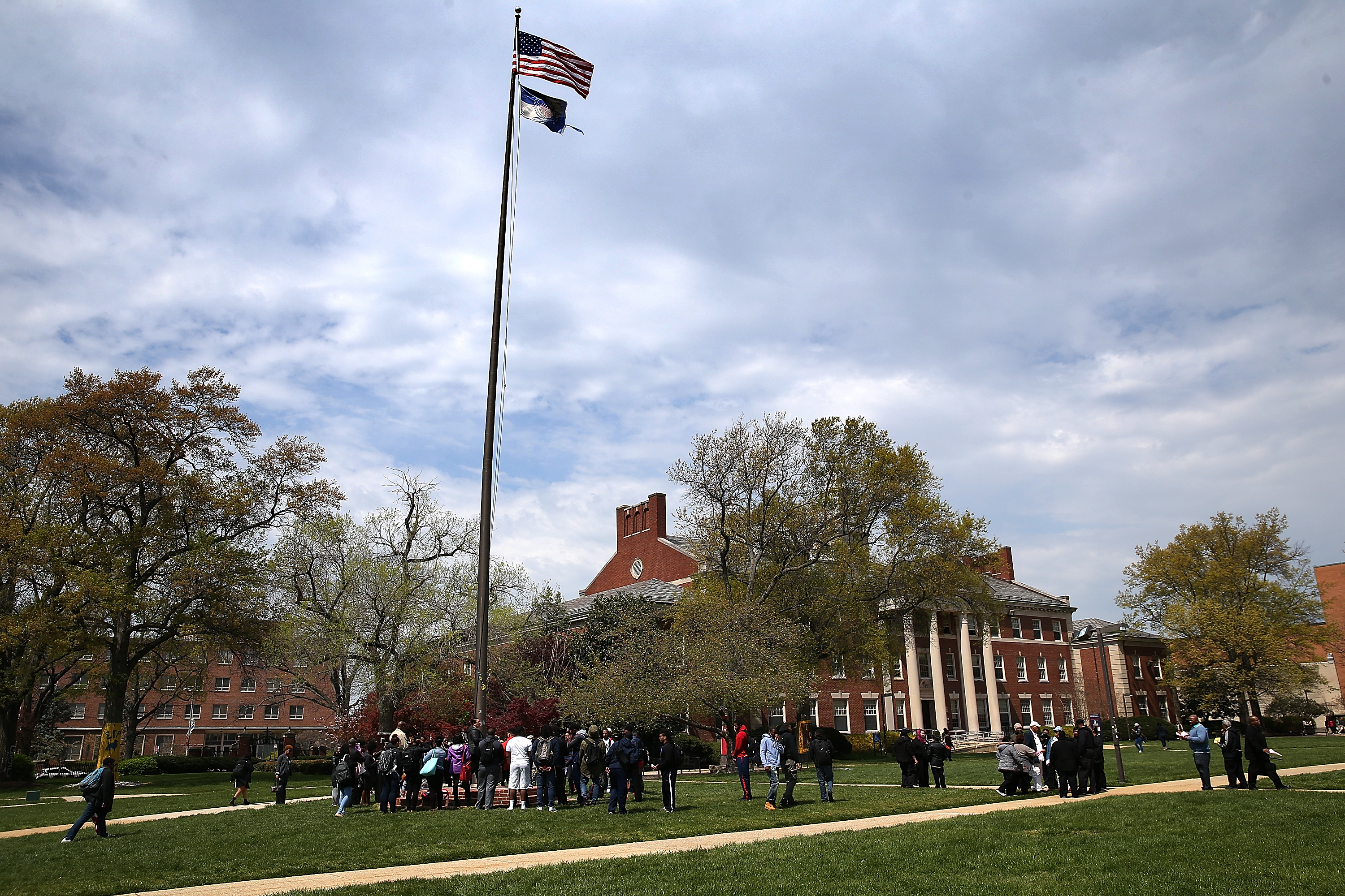 Howard University Students Rally Against Sexual Assault