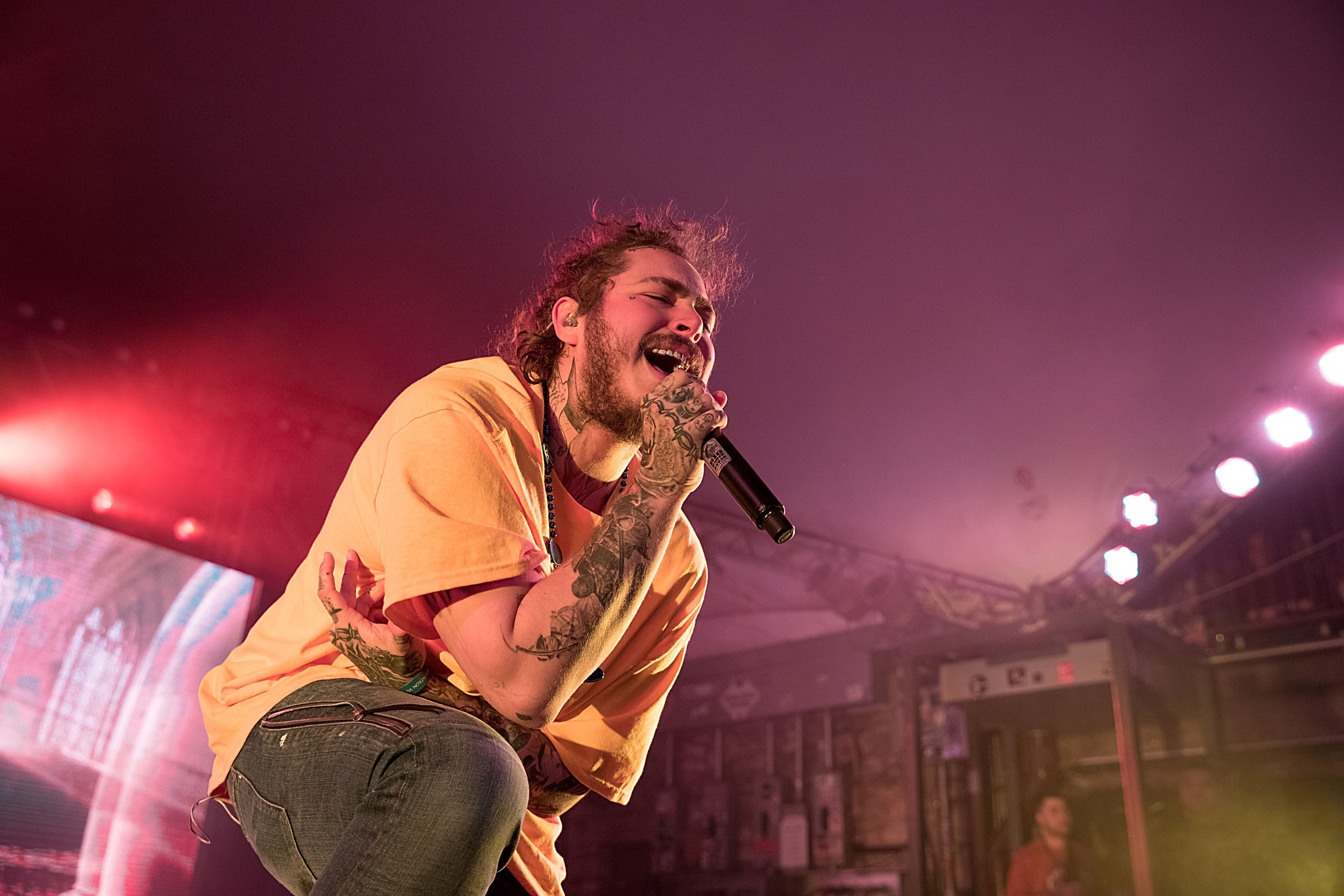 Post Malone Performs At Stubb's