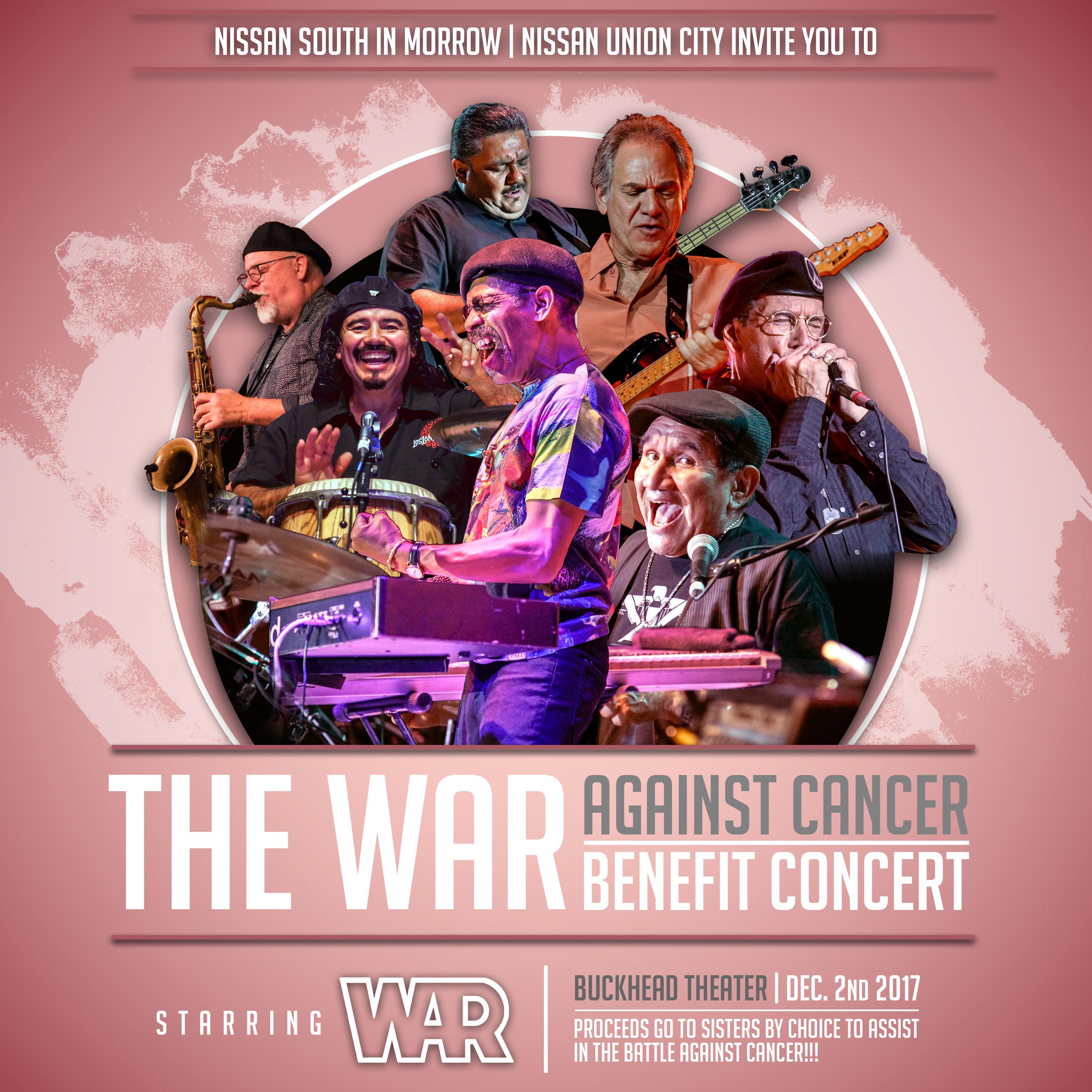 The War Against Cancer Benefit Concert