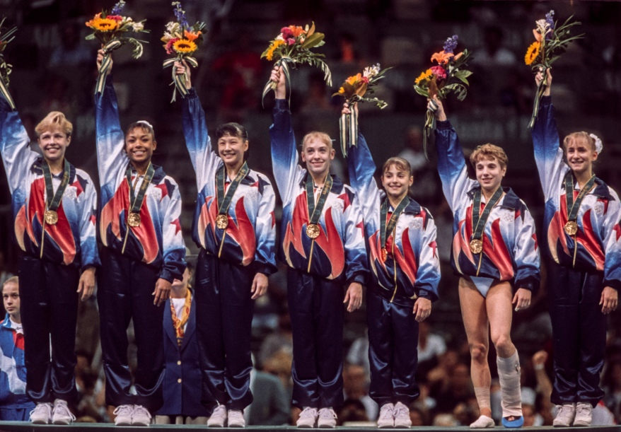 1996 Olympics - Women's Gymnastics Team Competition