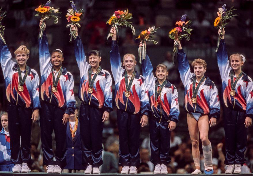 1996 Olympics - Women's Gymnastics Team Competition