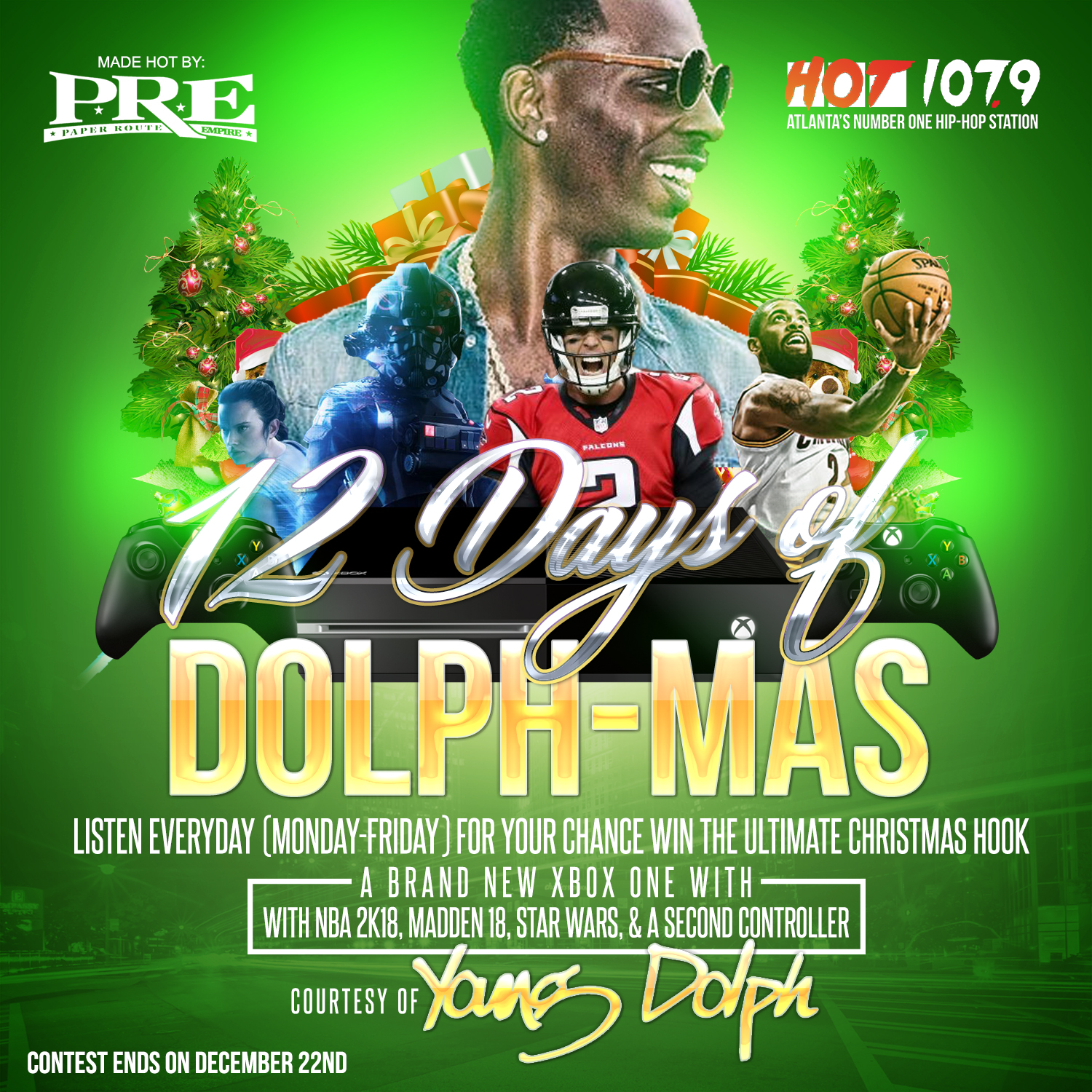 12 Days of Dolph-Mas