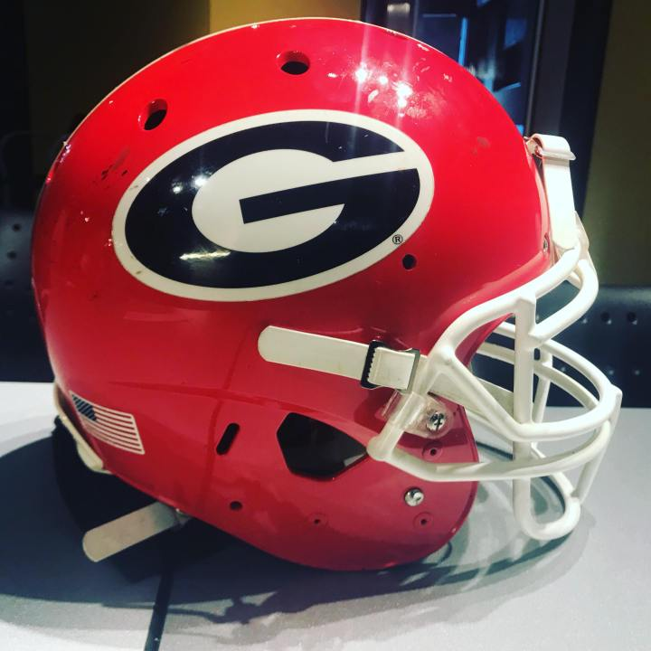 Georgia Bulldogs Helmet