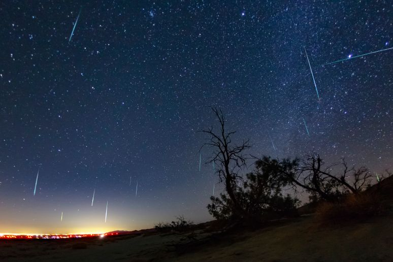 Geminid Meteor Shower 2017.