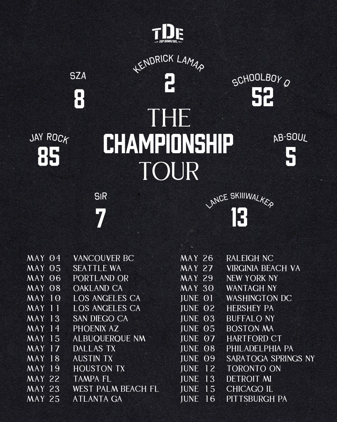TDE Tour