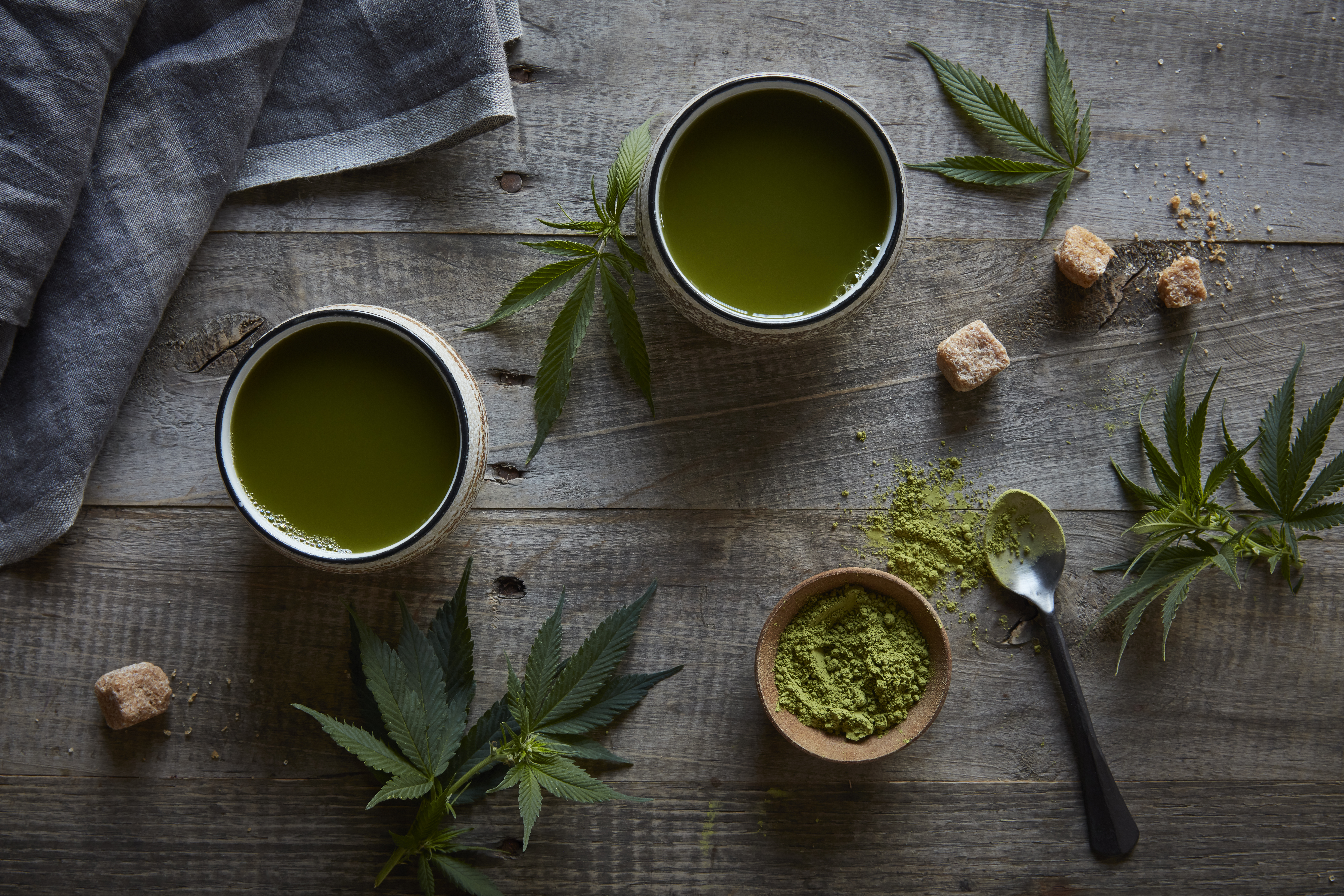 Marijuana Matcha Tea