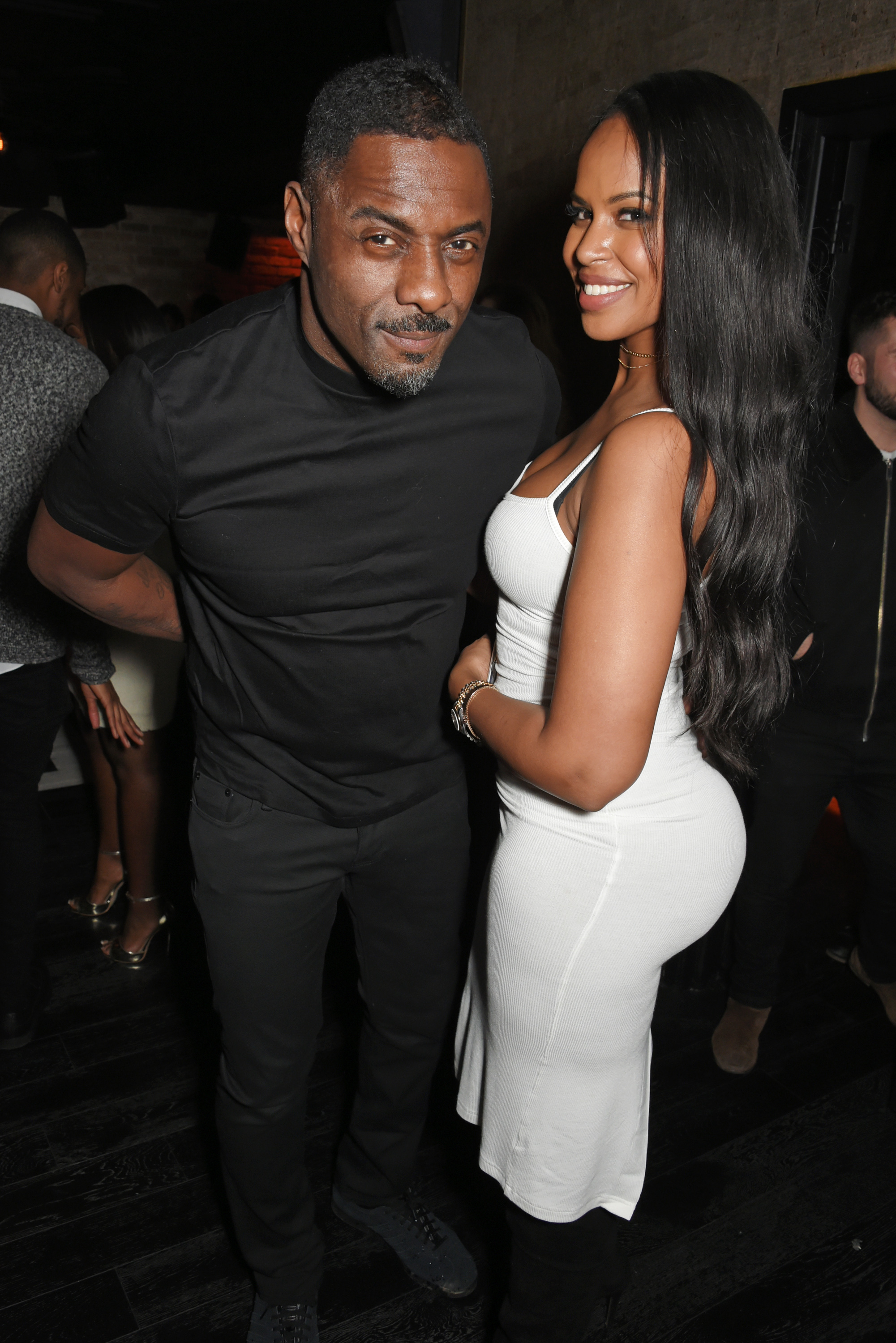 Idris Elba's Christmas Party At Kadie's Cocktail Bar & Club