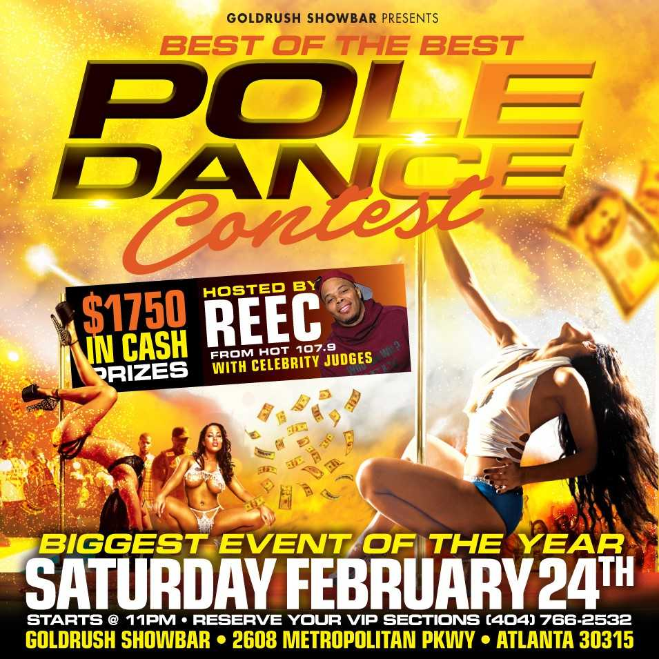 Gold Rush Pole Dance Contest