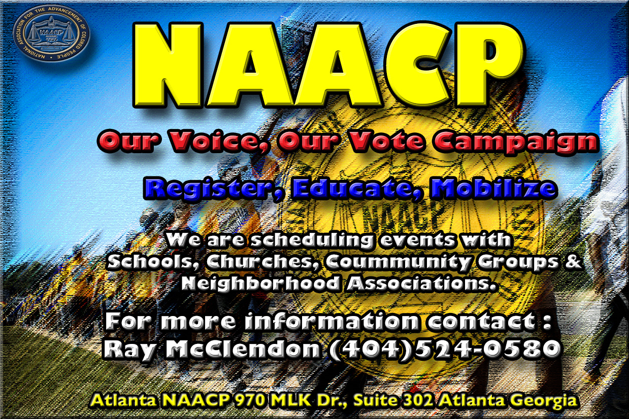 NAACP Voter Registration