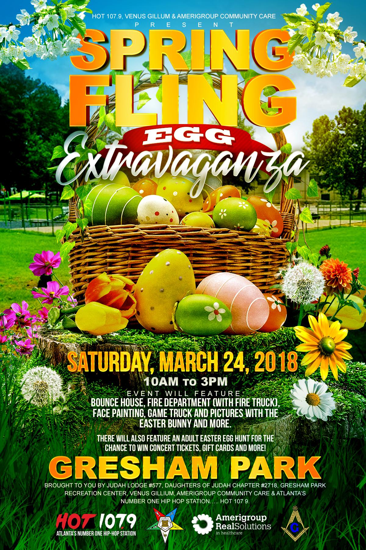 Spring Fling Egg Hunt