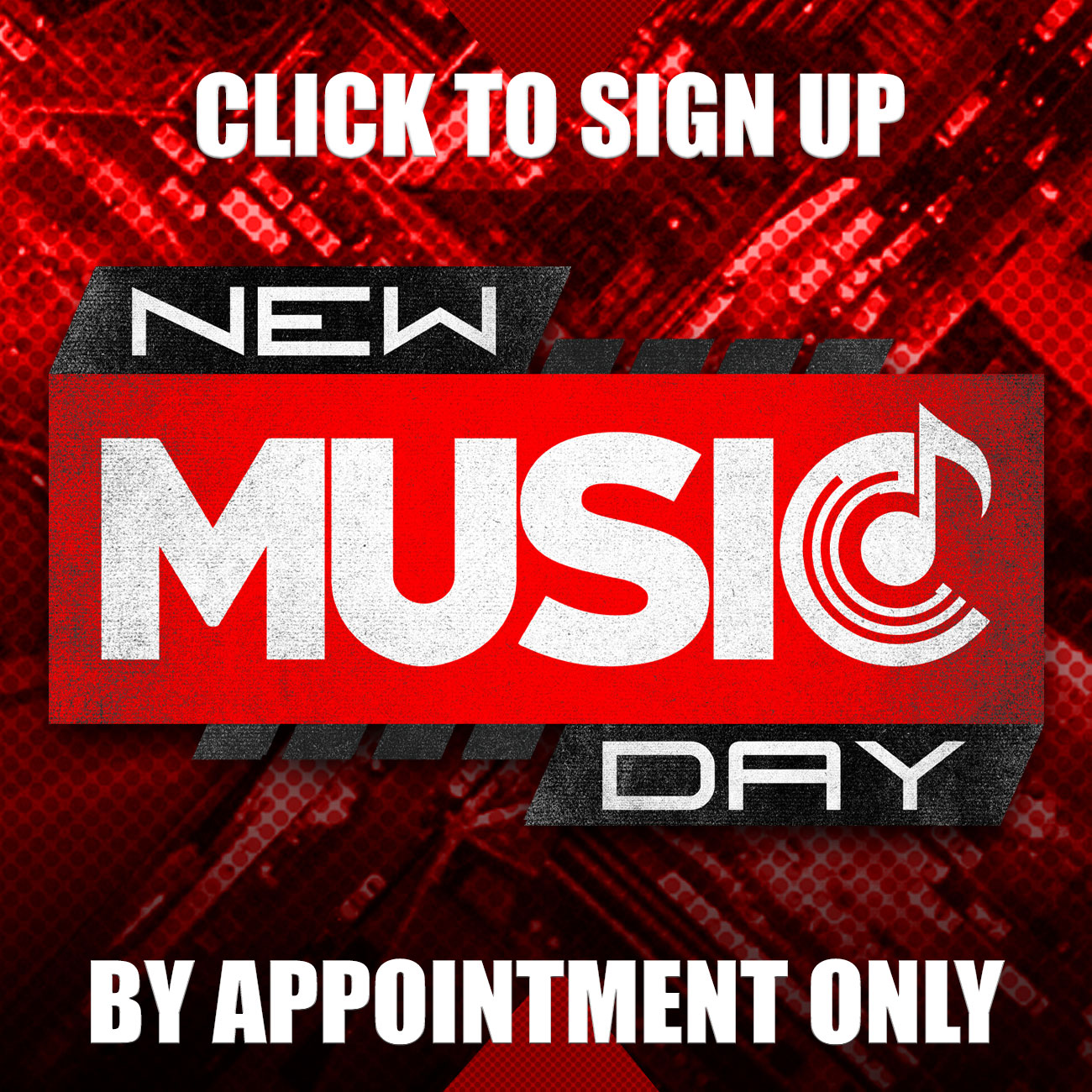 Hot Music Sign Up