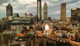 Atlanta after sunset