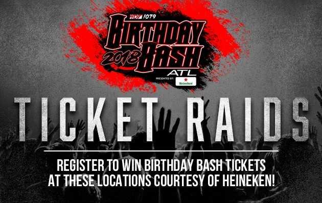 Heineken Birthday Bash Ticket Raids
