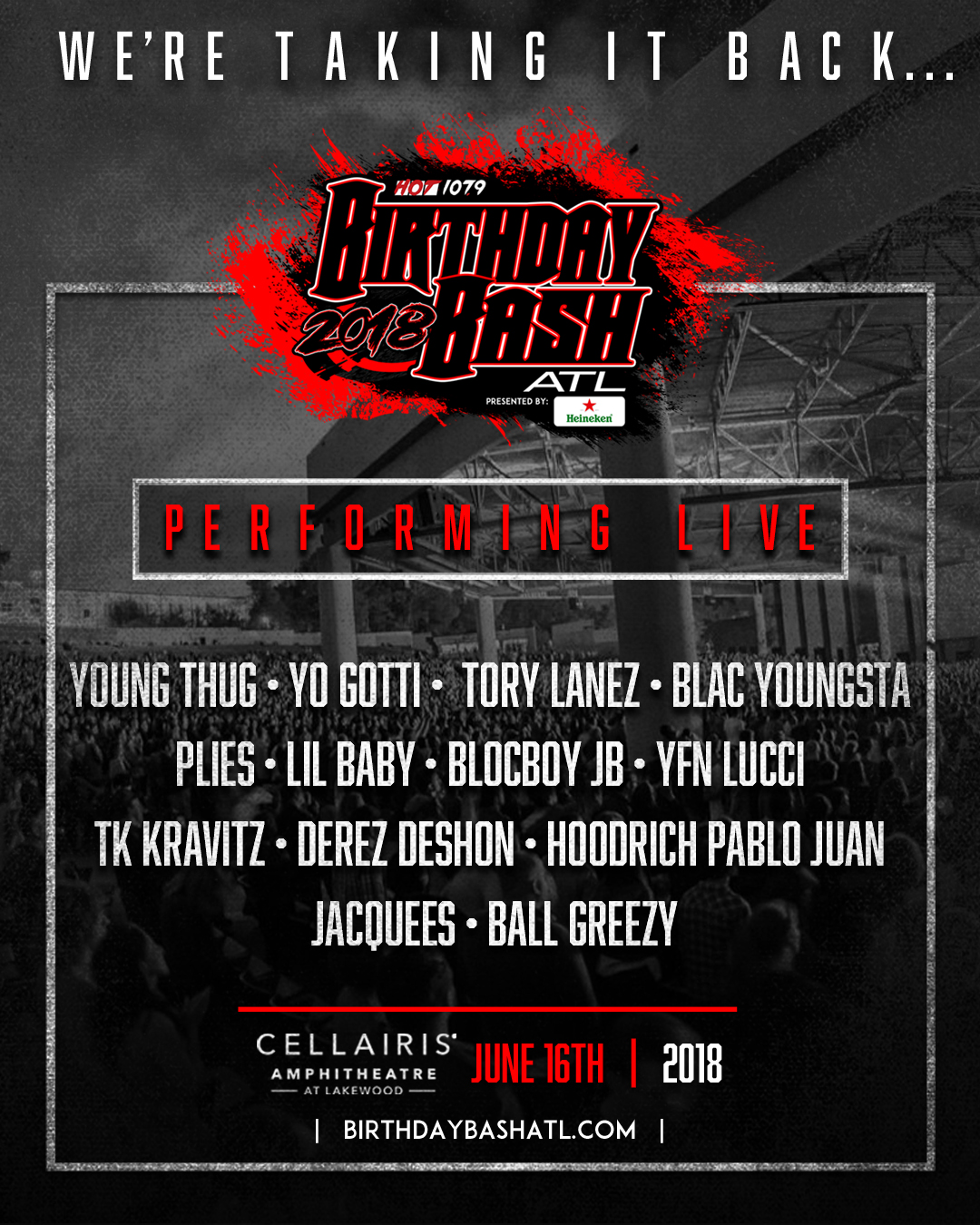 Birthday Bash 2018