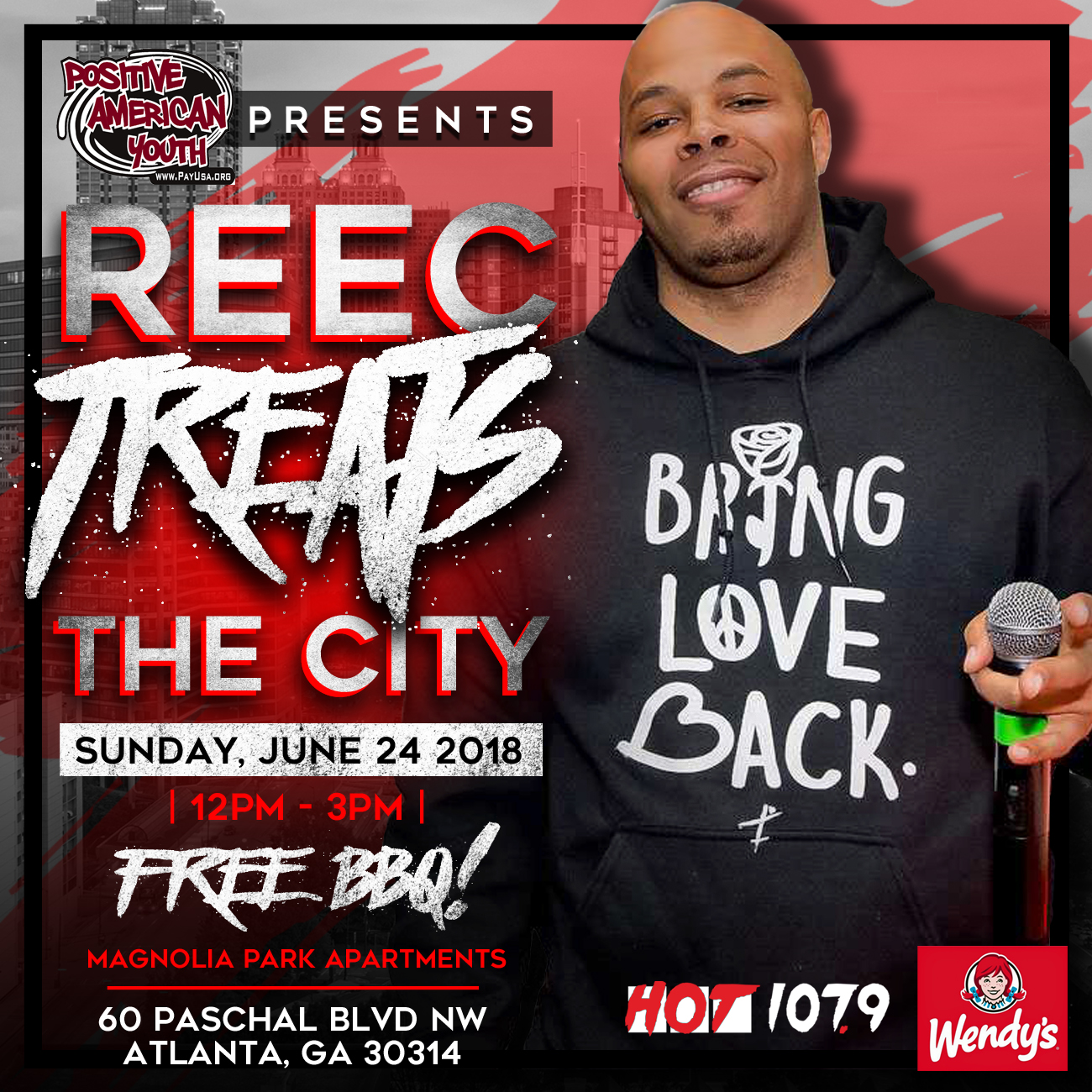 Reec Treats The City