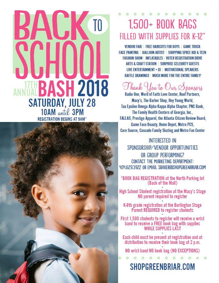 GBM Back To School Bash 2018