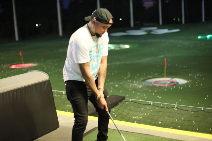 YG at Top Golf