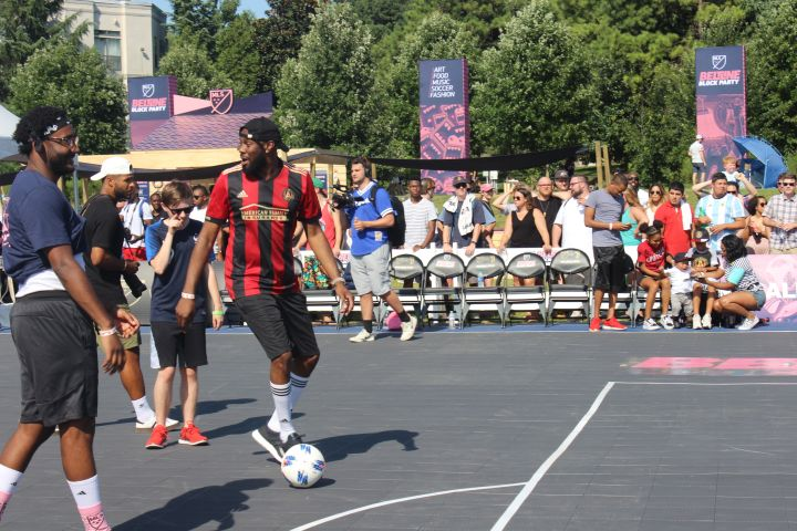 MLS Block Party Celebrity Soccer Game