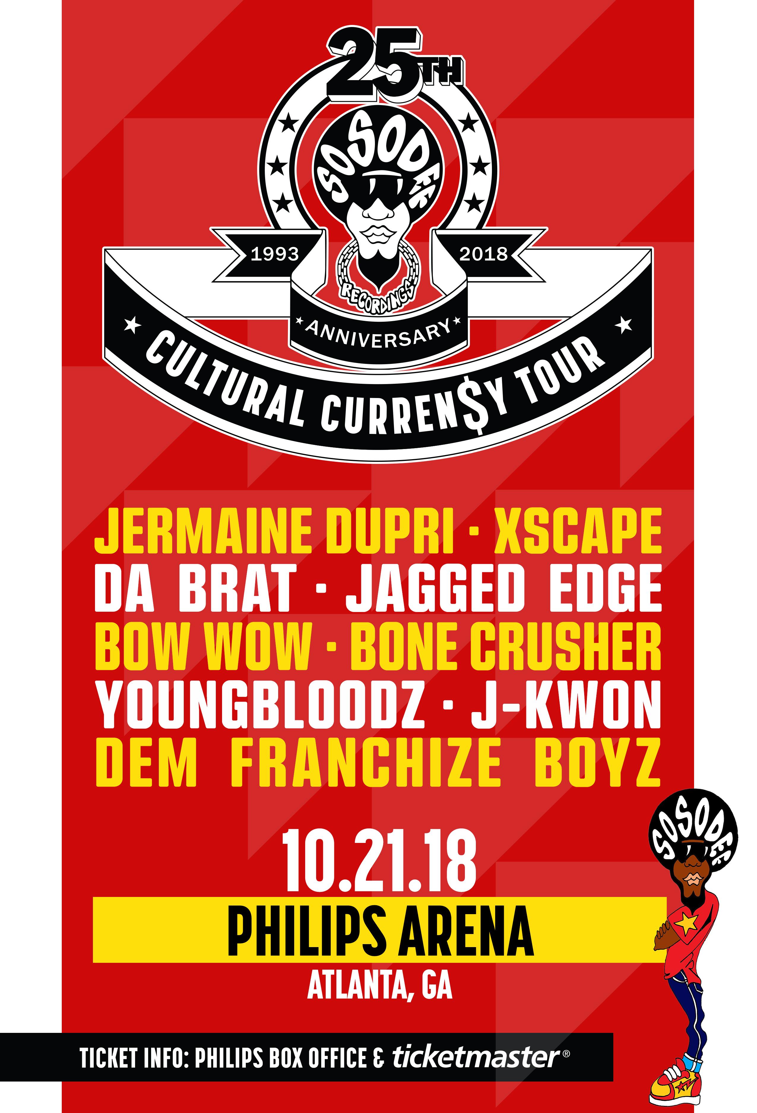 So So Def 25th Cultural Curren$y Tour