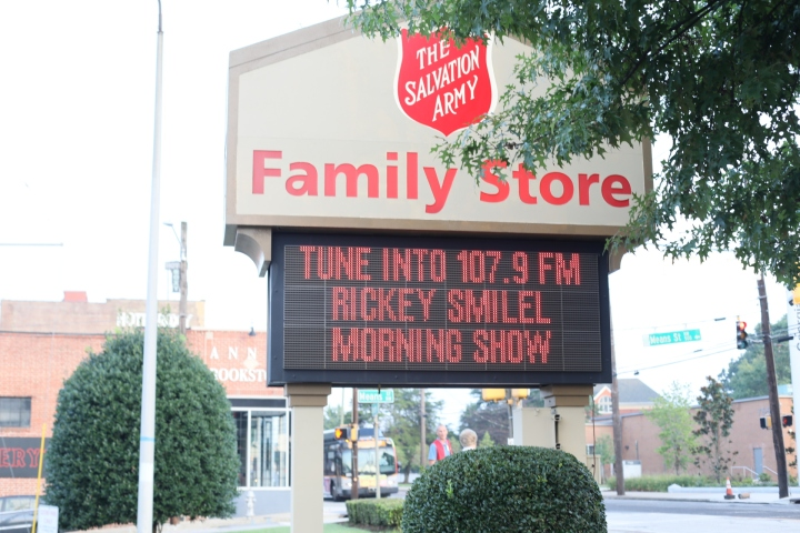 Rickey Smiley Salvation Army