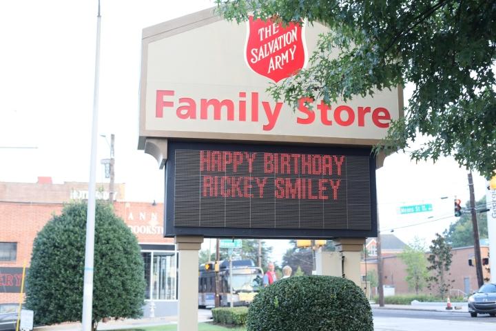 Rickey Smiley Salvation Army