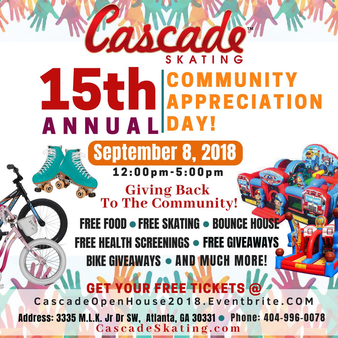 Cascade Community Skating Day