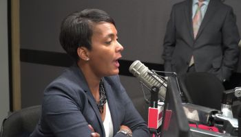 Keisha Lance Bottoms Hot 107.9 Studio