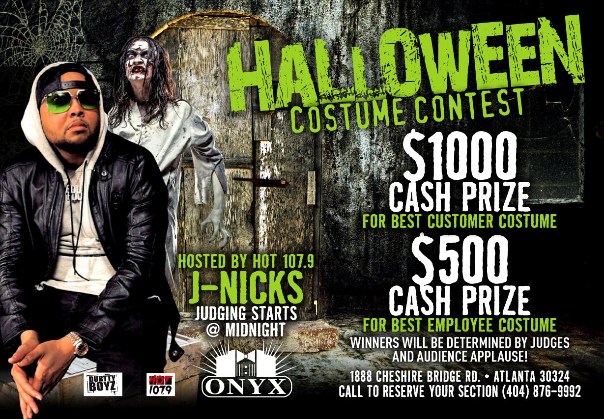 Onyx & Goldrush: Halloween Creative