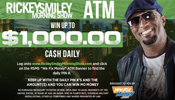 Rickey Smiley ATM