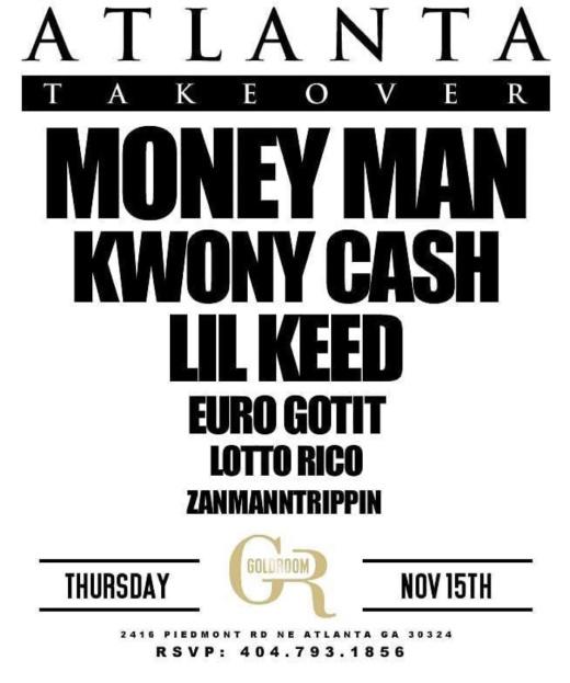 Goldroom Atlanta: Atlanta Takeover