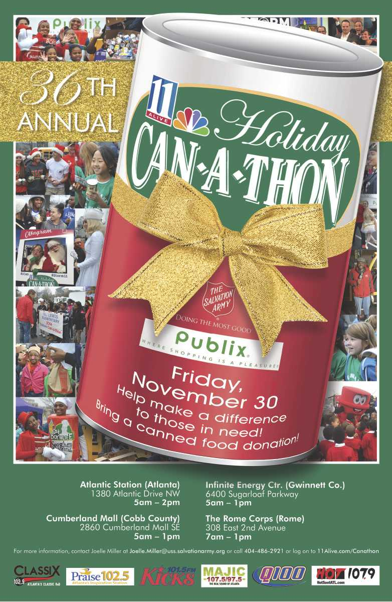 36th Holiday Can-a-thon
