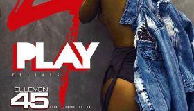 Elleven45: 4 Play Fridays