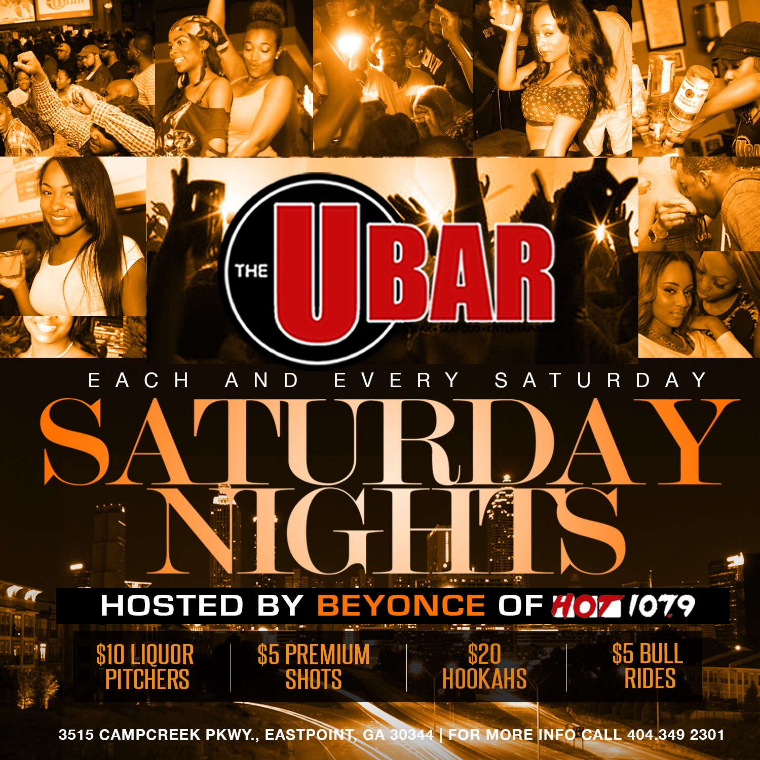 The Ubar: Saturday Nights