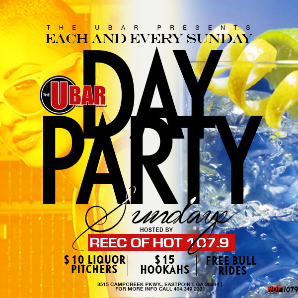 The Ubar: Sunday Day Party