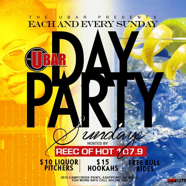 The Ubar: Sunday Day Party
