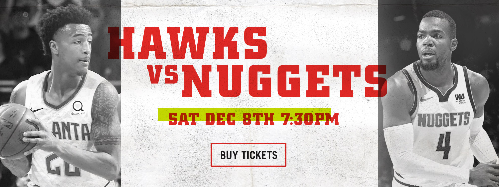 HAWKS vs. NUGGETS