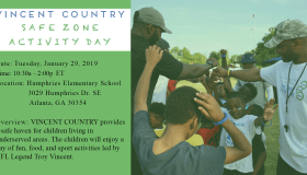 Vincent Country Safe Zone Activity Day