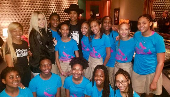 T.I.: (Friday, January 25th) The girls of the Ron Clark Academy (RCA) had an exciting, eye op...