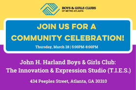 John H. Harland Boys & Girls Club Grand Opening