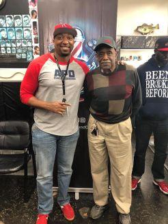 Ty Dennis (ATF Agent / APD Detective) & Mr. Martin (Owner of Murdens Shop)