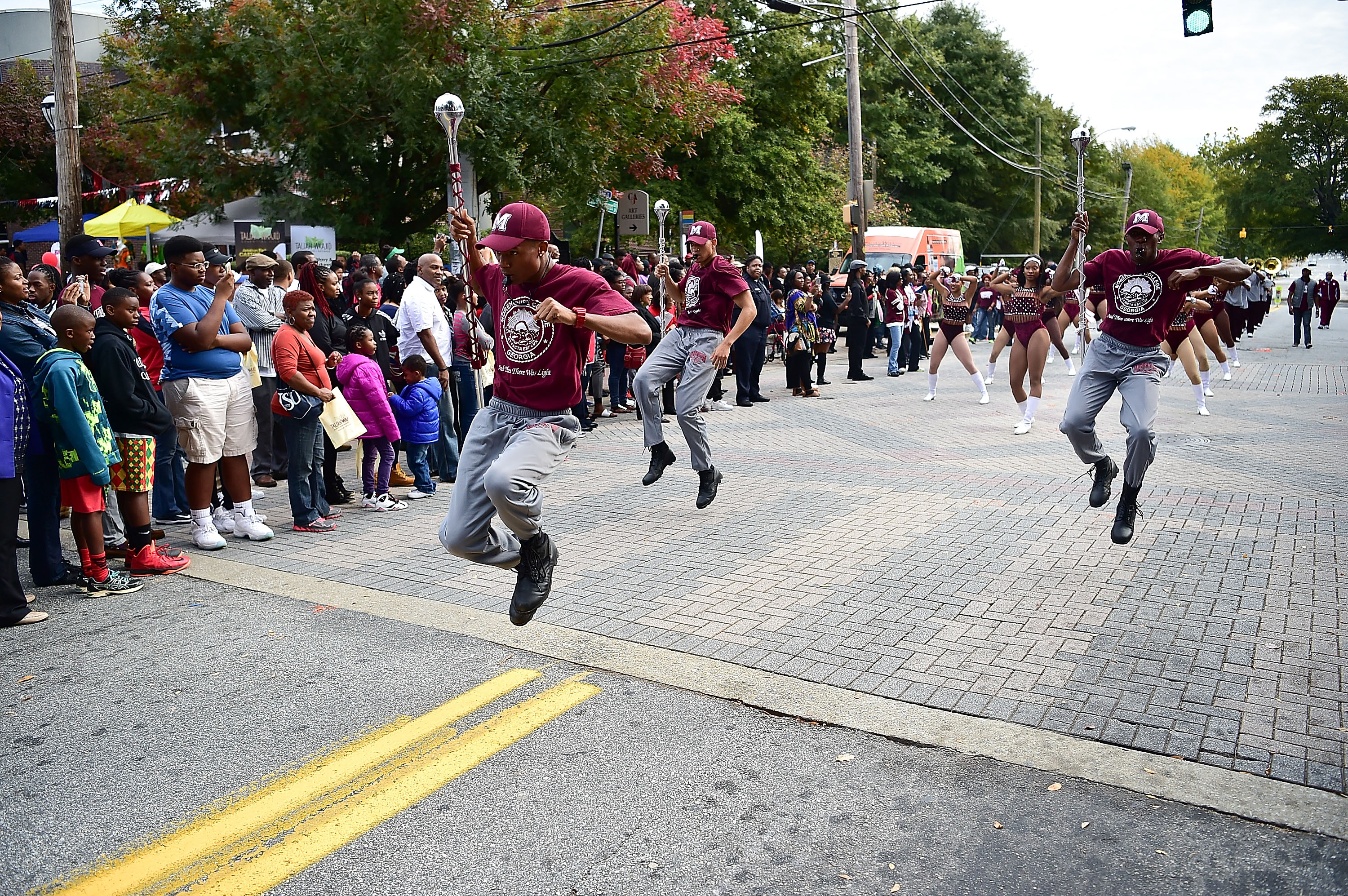 Morehouse, Spelman, And Clark Homecoming Parade