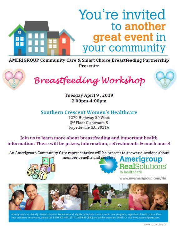 Breastfeeding Workshop 4.9.19