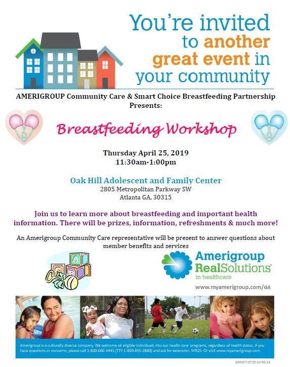 Breastfeeding Workshop 4.25