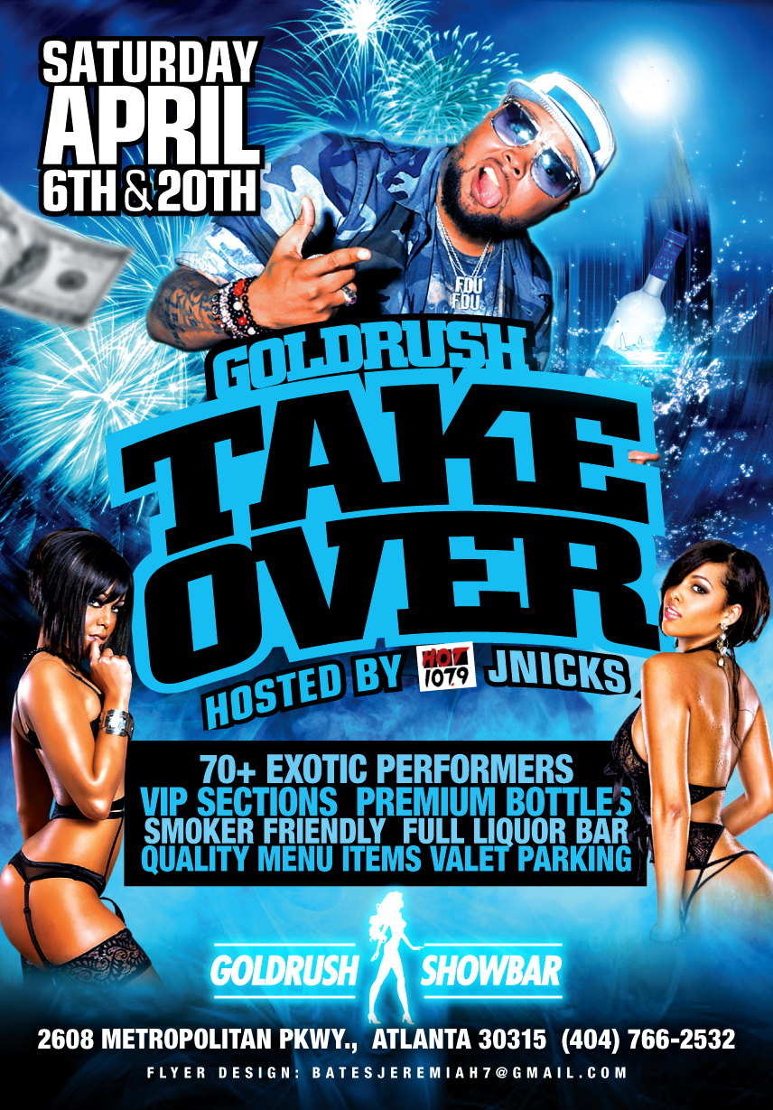Goldrush Showbar: J-Nicks Takeover
