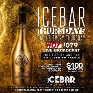 Icebar Atlanta: Icebar Thursdays ( Live Broadcast )